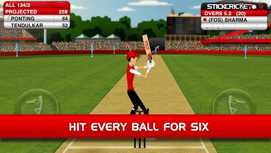 Stick Cricket Screenshot