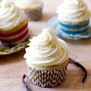 Very Vanilla Cupcakes.
