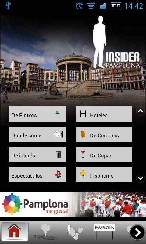 Insider Pamplona- screenshot