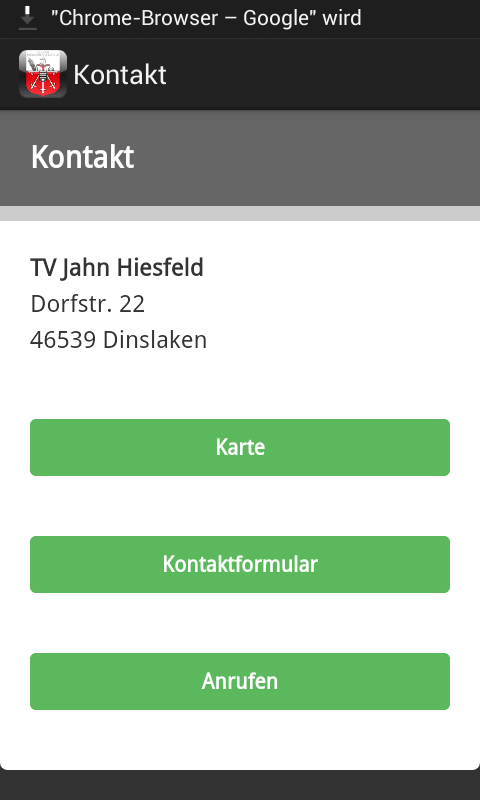 TV Jahn Hiesfeld- screenshot