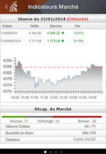 Bourse de Tunis- screenshot thumbnail