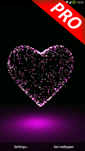 3D Valentine Heart Magic PRO