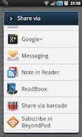 Screenshot of ReadBoox