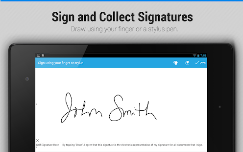 SignEasy:Sign & Fill Documents - screenshot thumbnail