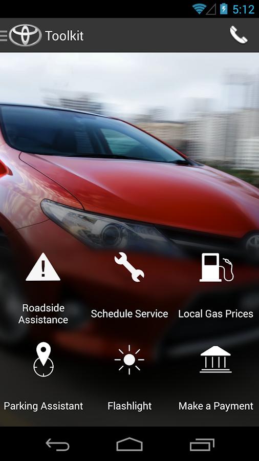 Prestige Toyota DealerApp - screenshot