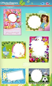 Kids Baby Photo Frames screenshot 0