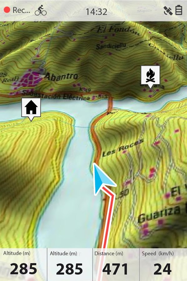 TwoNav GPS: Tracks & Maps- screenshot