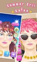 Screenshot of Summer girls spa - girls games