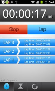 Stopwatch and Trainer - screenshot thumbnail