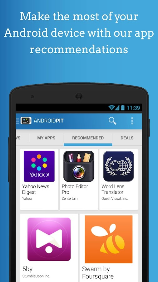 AndroidPIT: Apps, News, Forum- screenshot