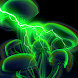 Green Glowing Mushrooms LWP