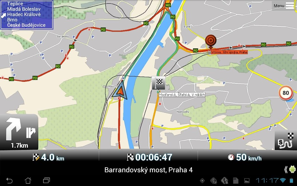 #9. MapFactor GPS Navigation Maps (Android)