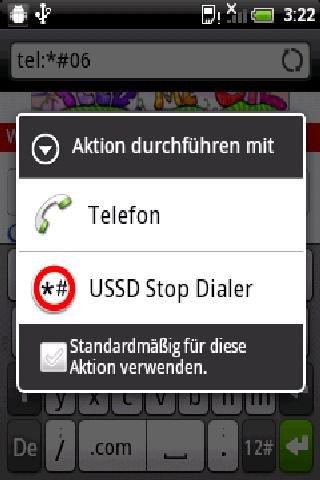 USSD Stop Dialer- screenshot