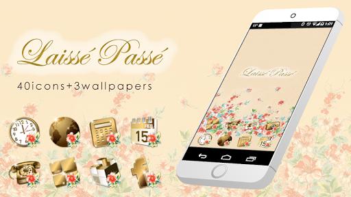 LAISSE PASSE-Gold Icon WP