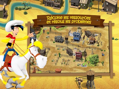 Lucky Luke: Transcontinental Capture d'écran