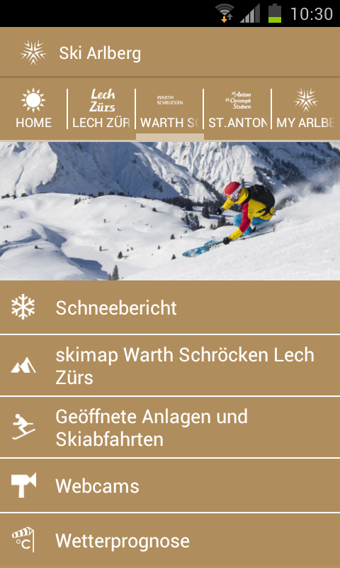 Ski Arlberg - screenshot