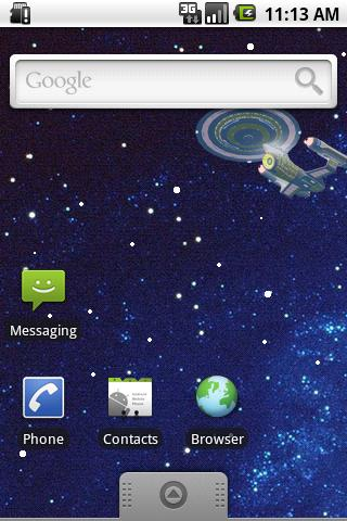 Enterprise Live Wallpaper Lite - screenshot