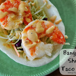 Bang Bang Style Shrimp Taco Boats