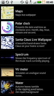 Santa Claus Live Wallpaper- screenshot thumbnail