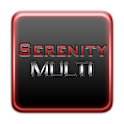 Serenity Launcher Theme Red logo