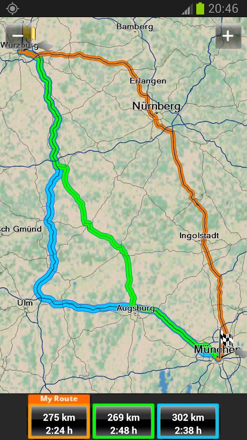 Garmin HUD Europe - screenshot
