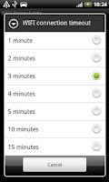 Screenshot of WIFI Power Saver