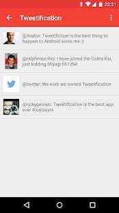 Tweetification - screenshot thumbnail