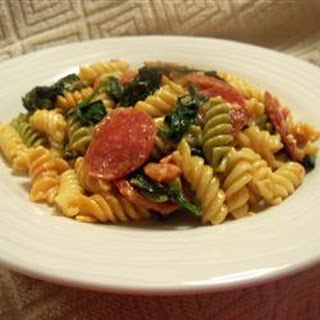 Penne Pasta With Pepperoni Recipes.