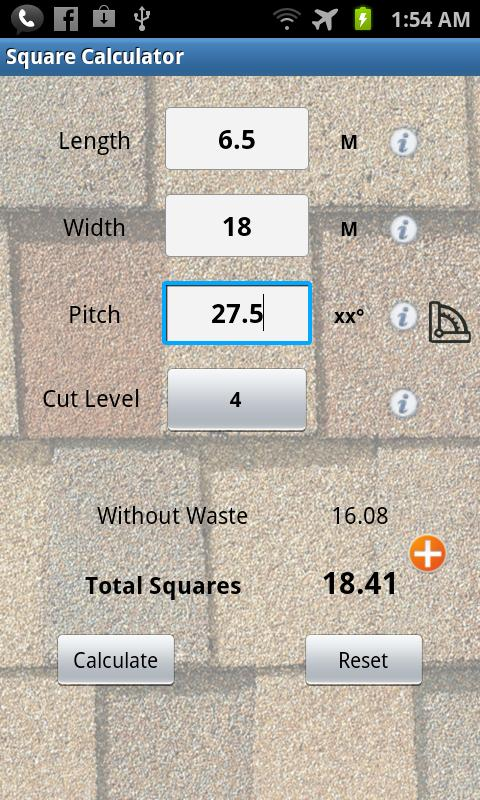 Pitch Gauge - screenshot