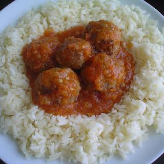 Chipotle Meatballs.