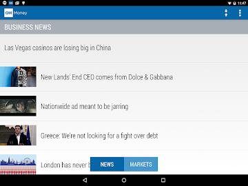 CNNMoney Business and Finance Screenshot 8