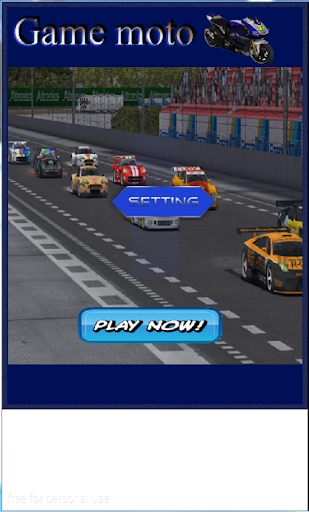 Moto game racing