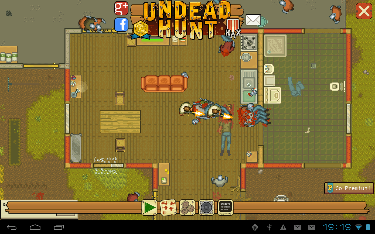 Undead Hunt - a Zombie Epic- screenshot