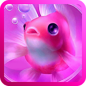 Pink Goldfish Live Wallpaper