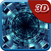 3D Tunnel Live Wallpaper