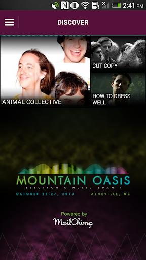 Mountain Oasis Music Summit