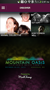 Mountain Oasis Music Summit- screenshot thumbnail