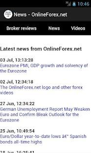 OnlineForex.net: Forex Trading - screenshot thumbnail