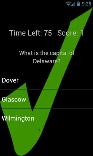 USA Capitals screenshot