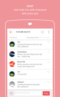 Mixlr - Social Live Audio Screenshot