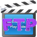FLV AVI MP4 FTP Video Player icon