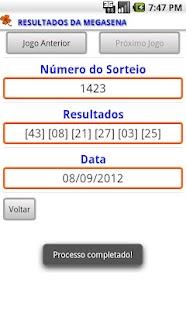 Oráculo da Loteria - screenshot thumbnail