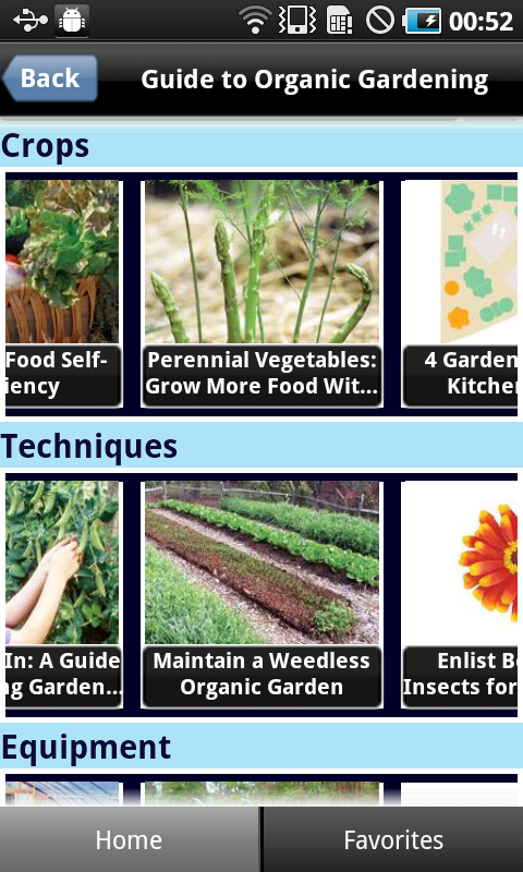 Guide To Organic Gardening - screenshot