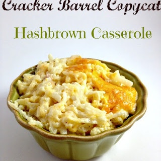 Cracker Barrel Copycat Hashbrown Casserole