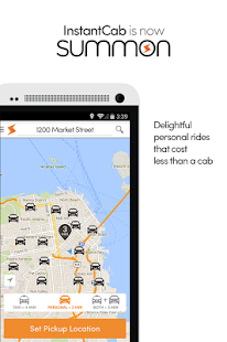 Summon InstantCab - Car & Taxi - screenshot thumbnail