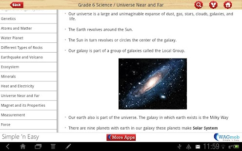 Grade 6 Science by WAGmob - screenshot thumbnail
