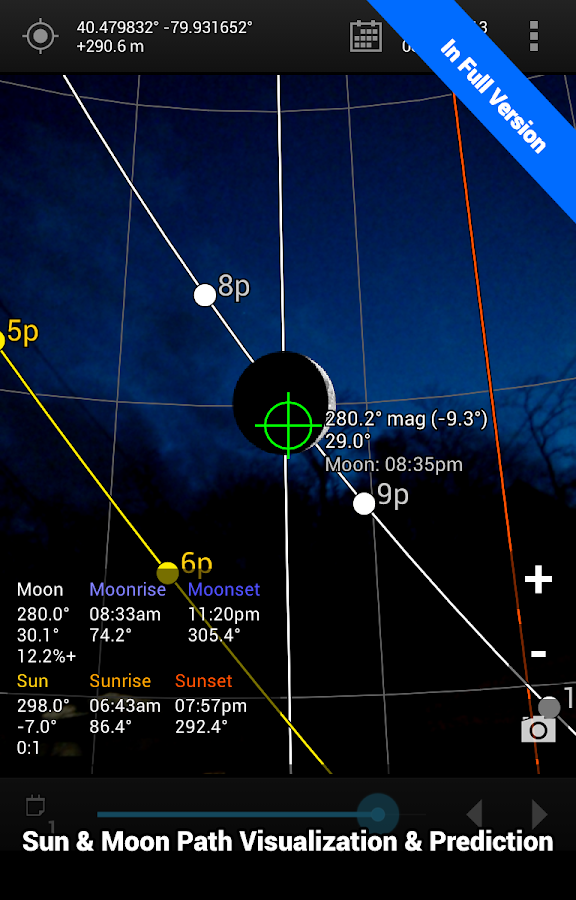 Sun Surveyor Lite- screenshot