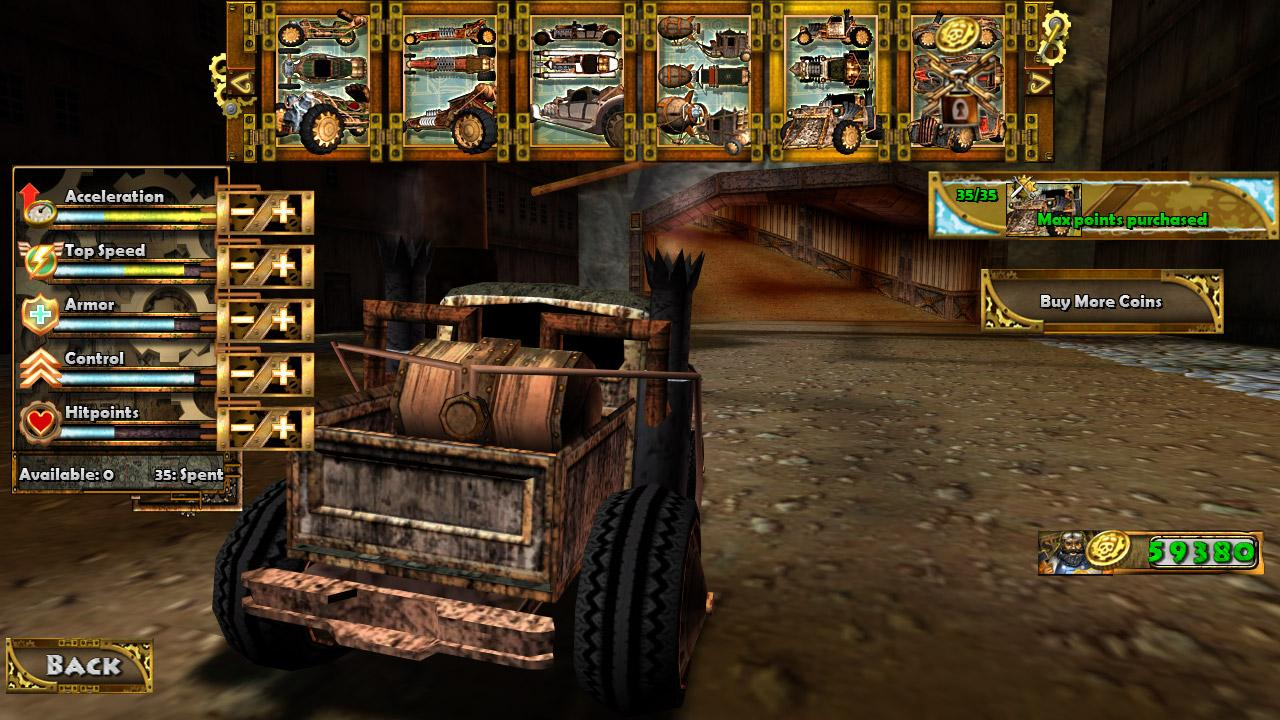 Steampunk Racing 3D - screenshot