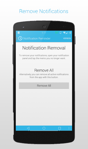【免費生產應用App】Notification Reminder [OLD]-APP點子