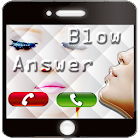 Blow to Answer Caller ID icon